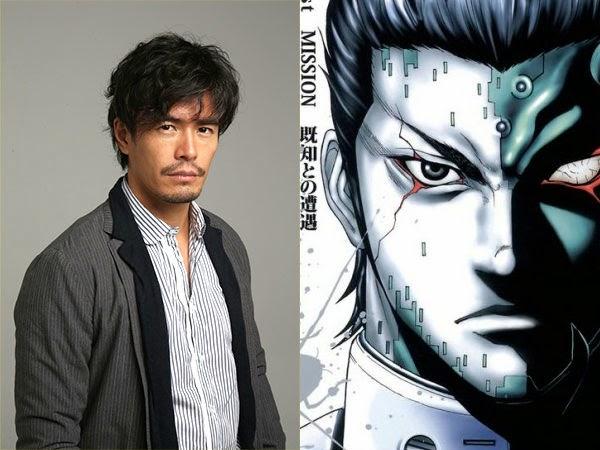 Hideaki Ito jako twarz Shokichi Komachi w filmie Terra Formars