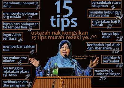 tips mencari rezeki
