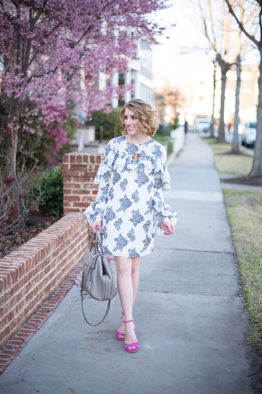 Ruffle Dress - Something Delightful Blog