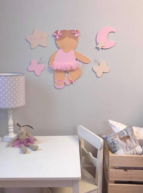 Siluetas infantiles para la pared