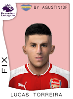 PES 6 Faces Lucas Torreira by Agustin13F