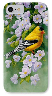 http://pixels.com/products/goldfinch-blossoms-greeting-card-1-crista-forest-iphone7-case-cover.html