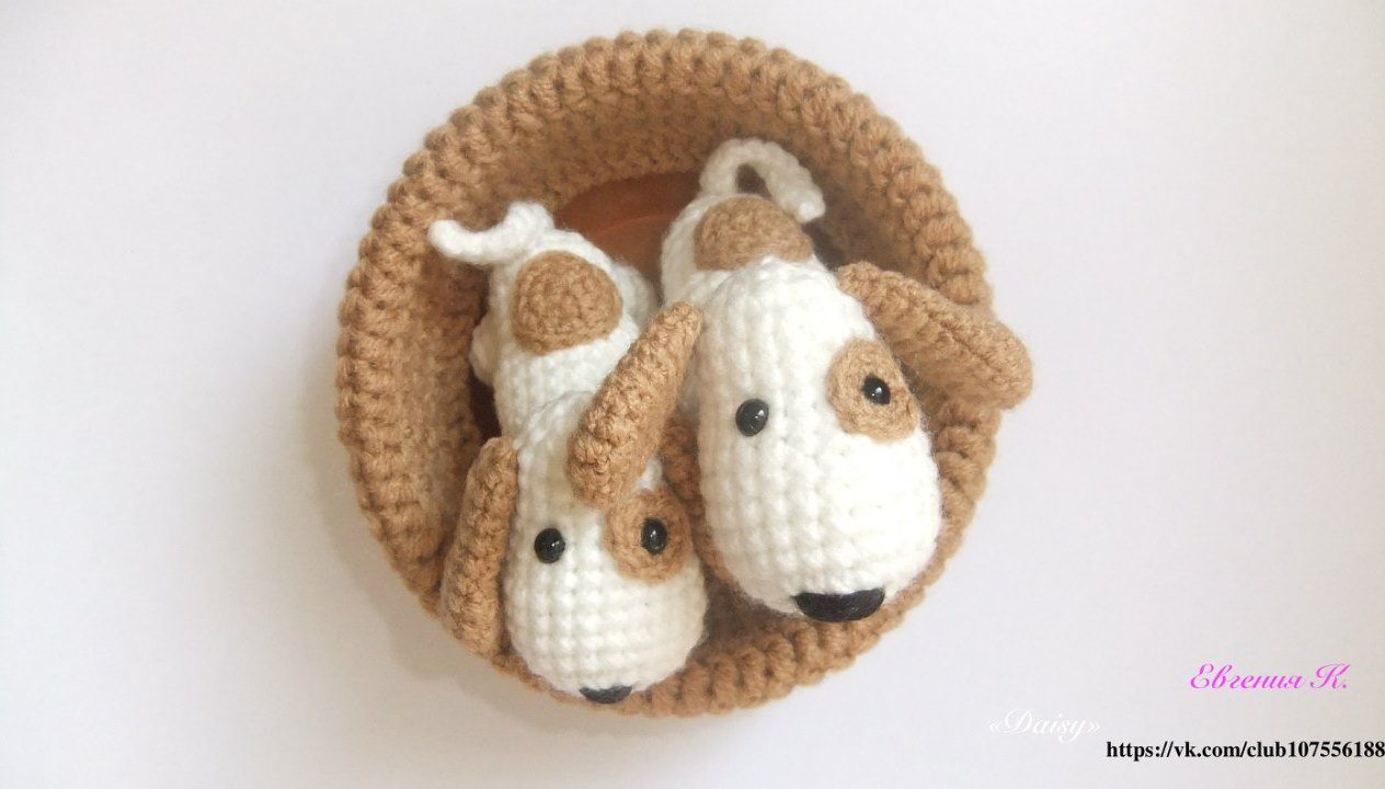Crochet Puppy Dog Stuffed Knitted Amigurumi Puppy Dog Toy For ... | 720x1264