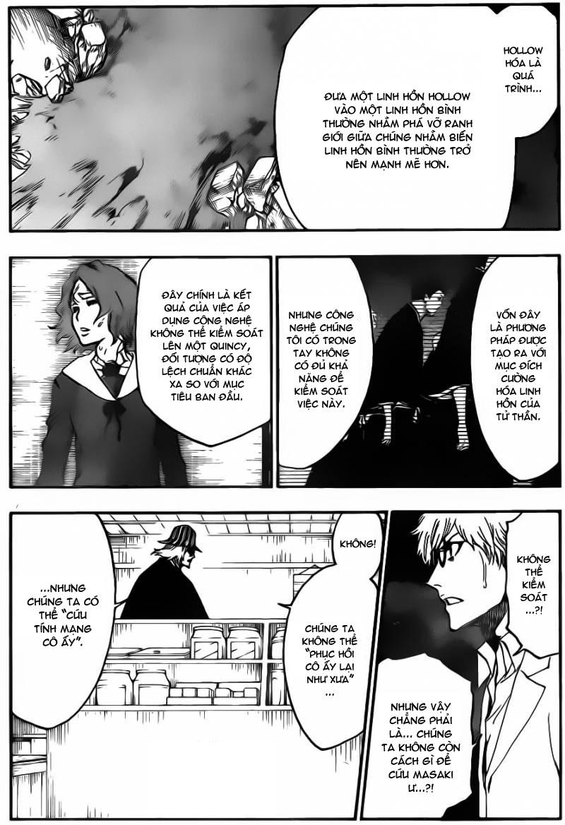 Bleach chapter 535 trang 8