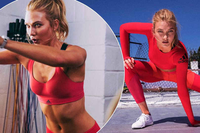 Karlie Kloss' jaw-dropping abs in this new Adidas collection