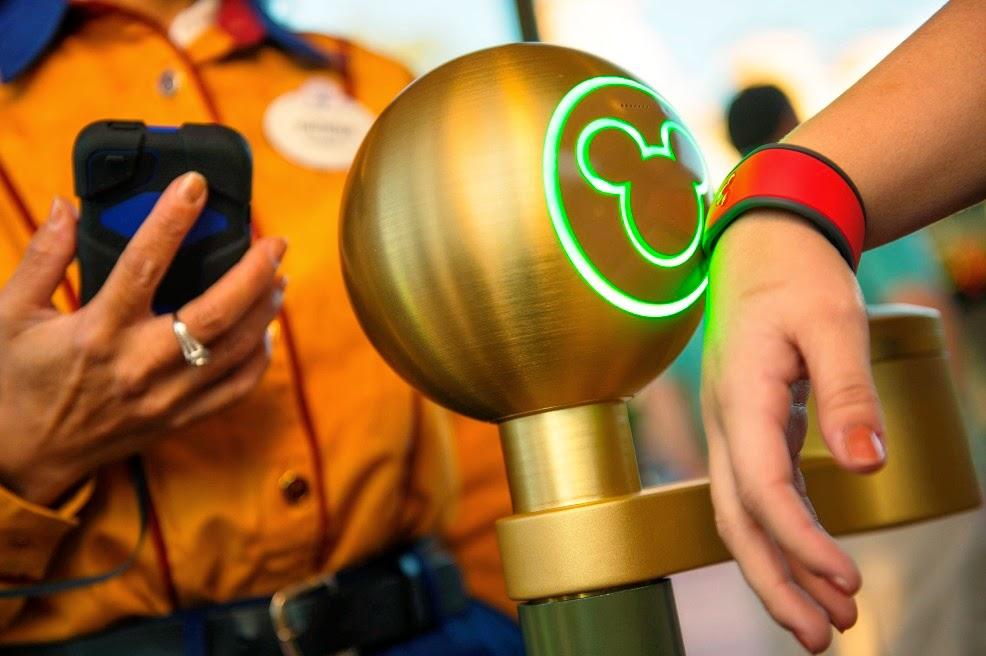 Pulseiras MagicBands da Disney
