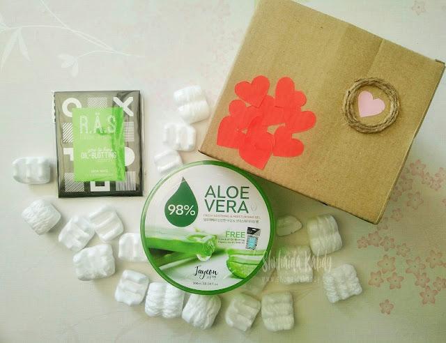 jayeon aloe vera soothing & moisturising gel