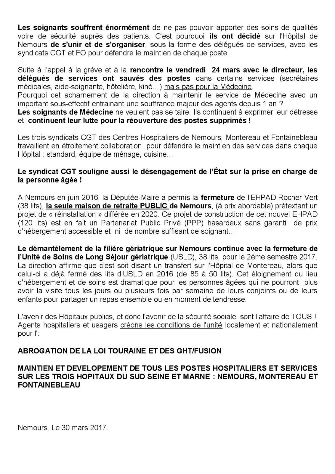 0c874c96e15 COLLECTIF DE DEFENSE DE L HOPITAL PUBLIC DE FONTAINEBLEAU  Syndicat ...