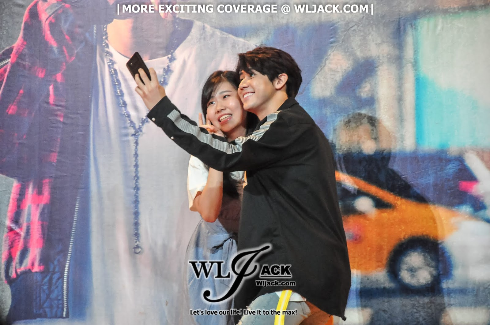 Coverage] Dino Lee Yu Xi (李玉玺) Sing With Me Autograph