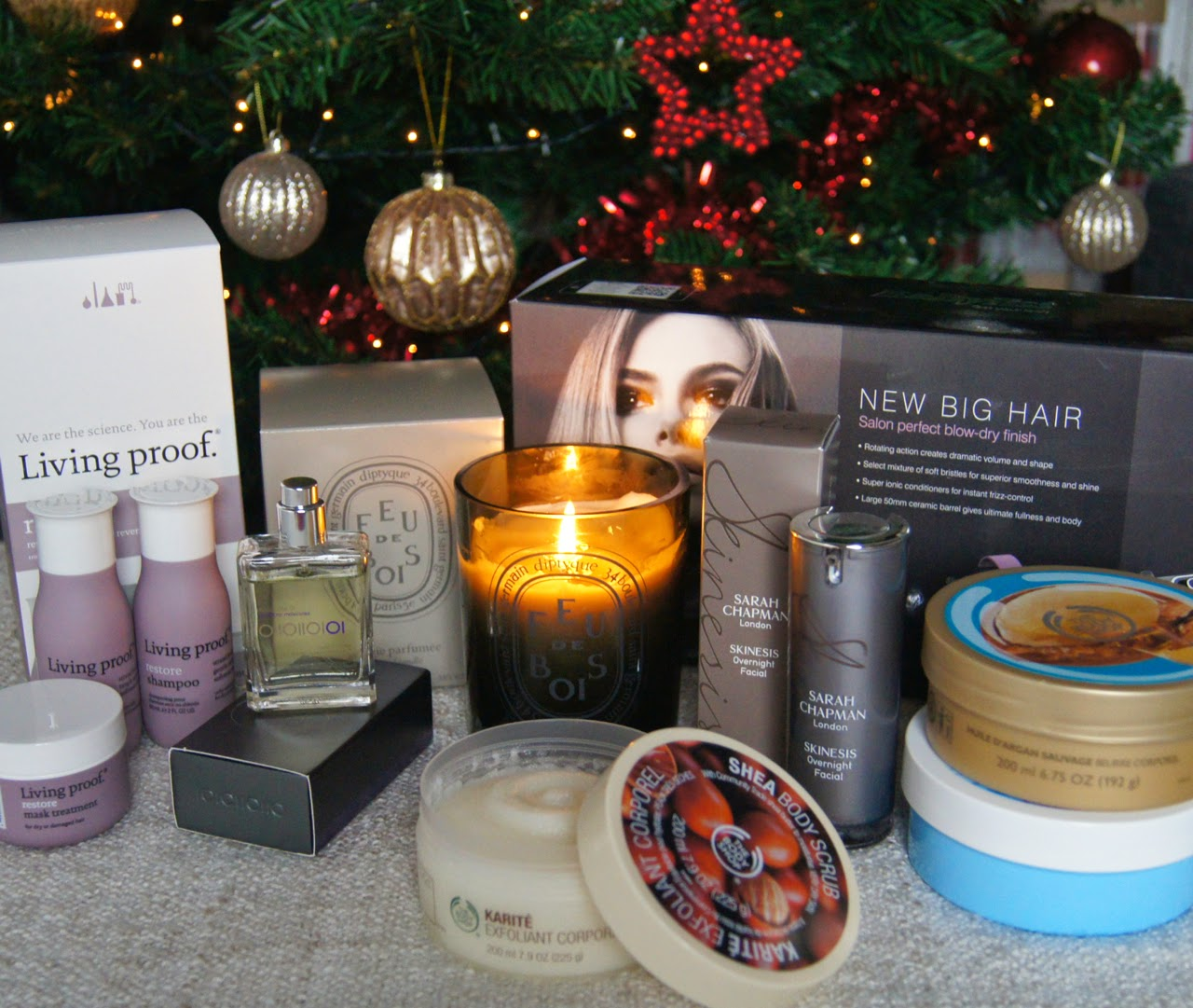 luxury beauty christmas gift guide premium makeup skincare fragrance candles haircare body care