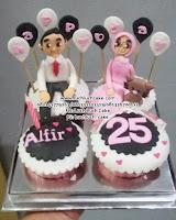 Cupcake Anniversary Romantis Untuk Pasangan