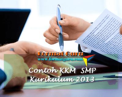 Contoh KKM Matematika SMP Kurikulum 2013