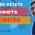 Twitter ke tweets ko delete kaise karen?