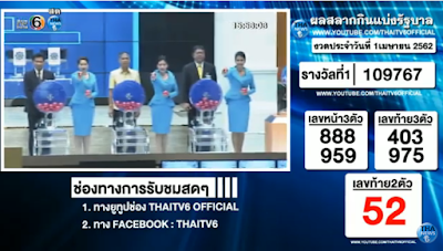 Thailand Lottery live results 01 April 2019 Saudi Arabia on TV