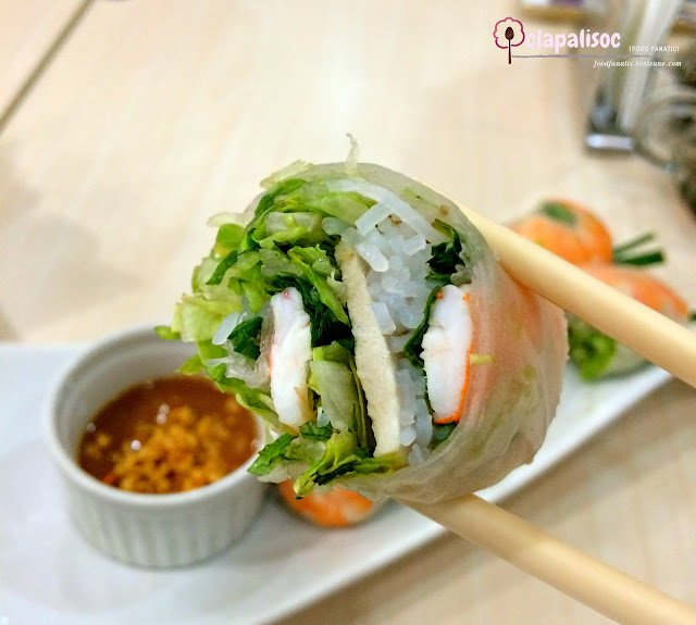 Fresh Special Spring Roll from Tra Vinh