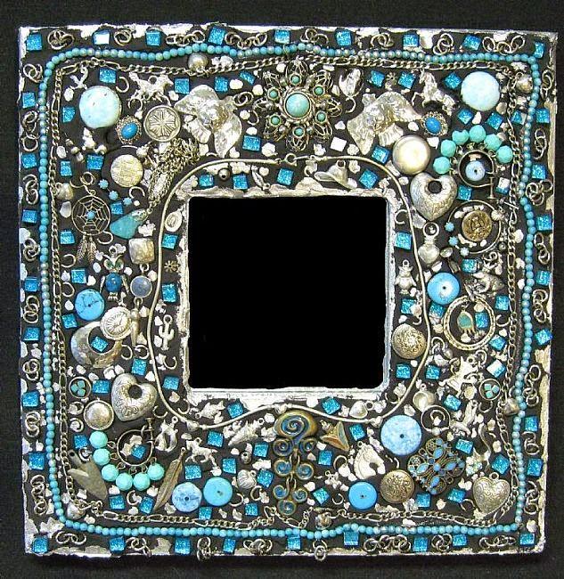 espejos muy bonitos con mucho arte