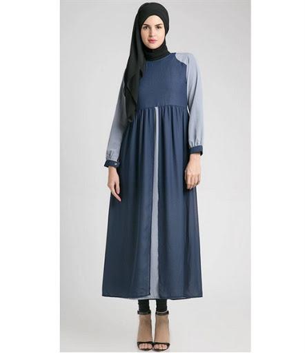 11 Model Desain Baju Hamil Muslim Buat Lebaran Baju Gamis Hamil