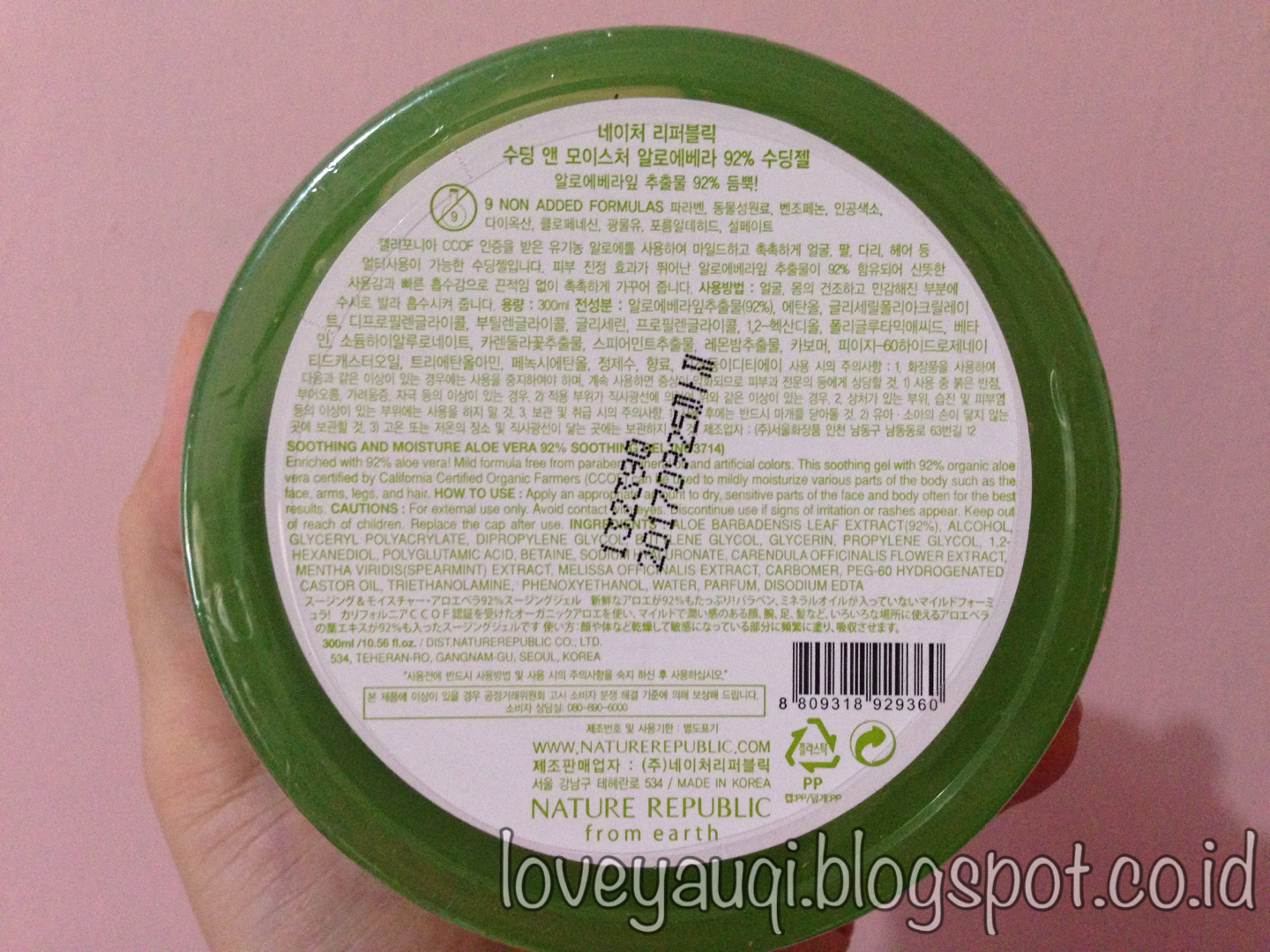 Review skincare korea murah