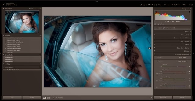 Цветокоррекция свадебной фотографии