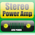 Stereo Low power audio amplifier circuit