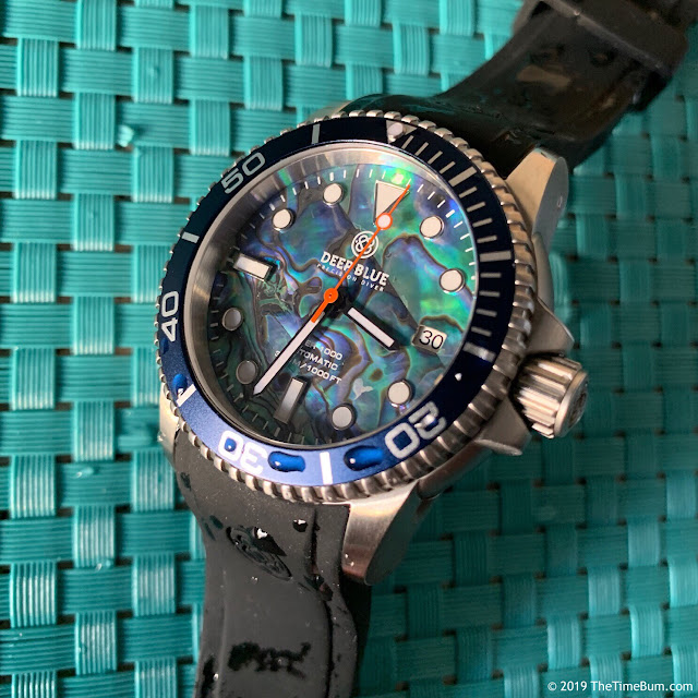 Deep Blue Diver 1000 40mm