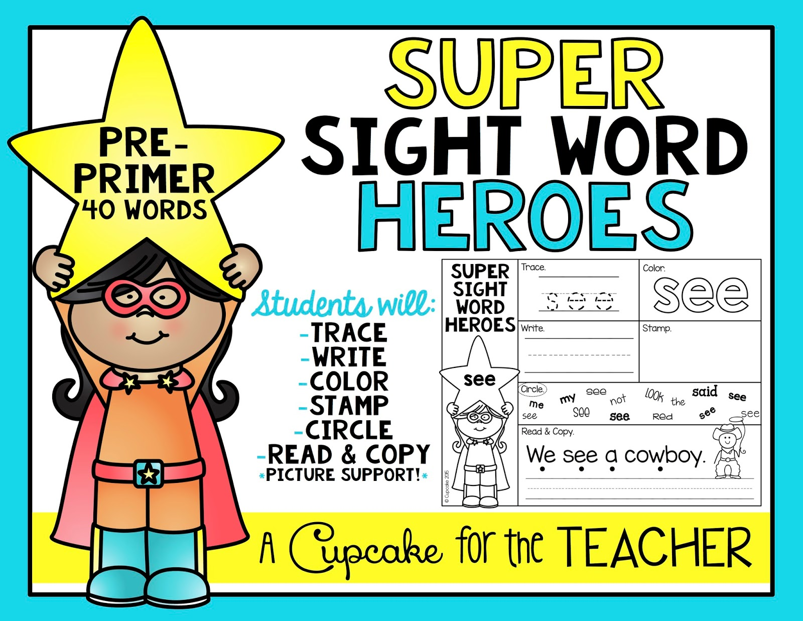Super Sight Word Heroes