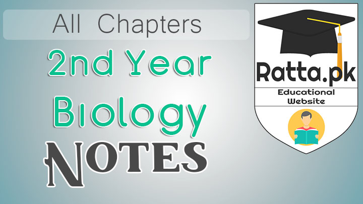 FSc 2nd year Biology Notes pdf - Questions All Chapters