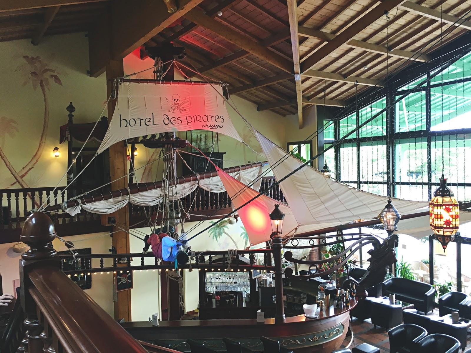 hôtel des pirates nigloland