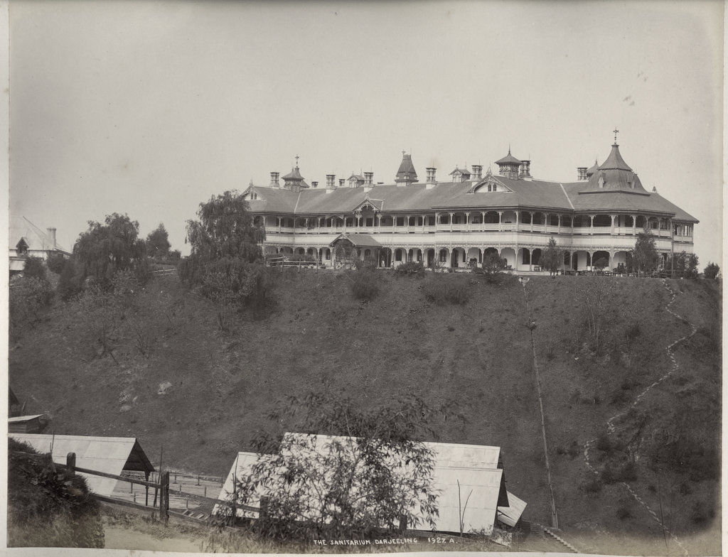 The Sanitarium in Darjeeling - c1860's