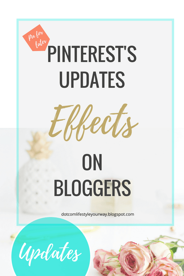 Pinterest's April 2018 updates, there effects on bloggers, and how best to incorporate them into your Pinterest strategy.