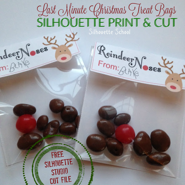 Silhouette Studio, Silhouette Cameo, free cut file, Christmas, Reindeer