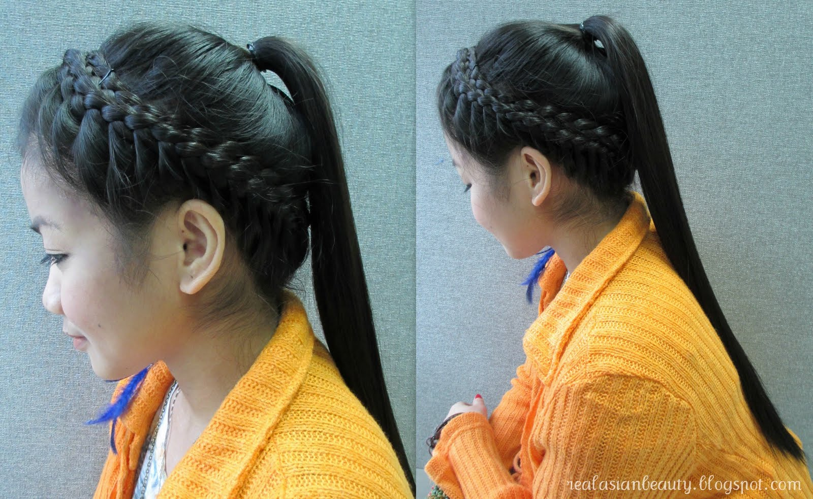 Asian Braids Hairstyle Hairstyle