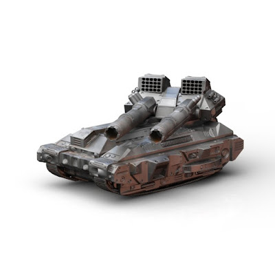 Kronos Assault Tank from Baphominiatures