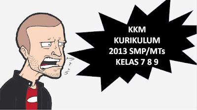 download gratis kkm k13 smp kelas 7 8 9 Semester 1 dan 2