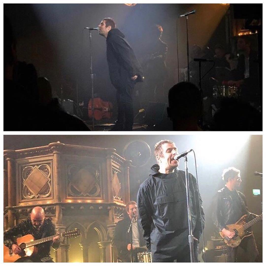 online retailer a648b 73921 Bonehead sul palco per la seconda parte della scaletta e il ritorno di Cast  No Shadow (brano che non si sentiva dal vivo da Liam dal giugno 1997 (era  stato ...