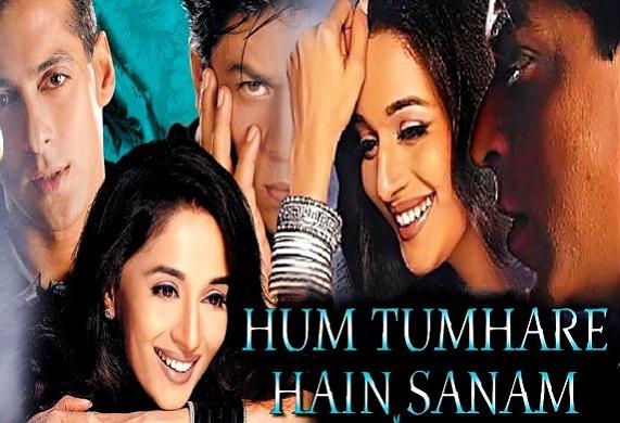 REVIEW; FILM INDIA HUM TUMHARE HAIN SANAM