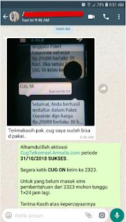 Testimoni CUG Telkomsel Kartu Pasangan Kartu Komunitas Kartu Soulmate Kartu Couple 31 Oktober 2018 9