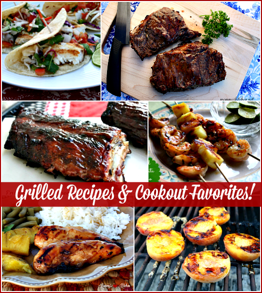 Recipes From My Texas Kitchen: Grilled