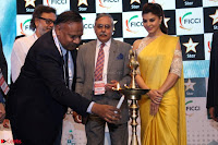 Gorgeous Jacqueline Siddharth Roy Kapur and Raj Nayak At FICCI FRAMES 2017 08.JPG