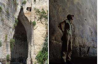 Tour português área arqueolóogica Siracusa