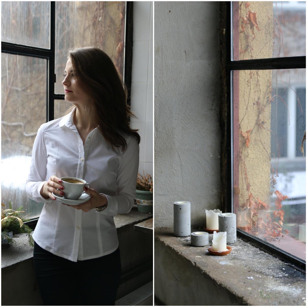 biała koszula blog