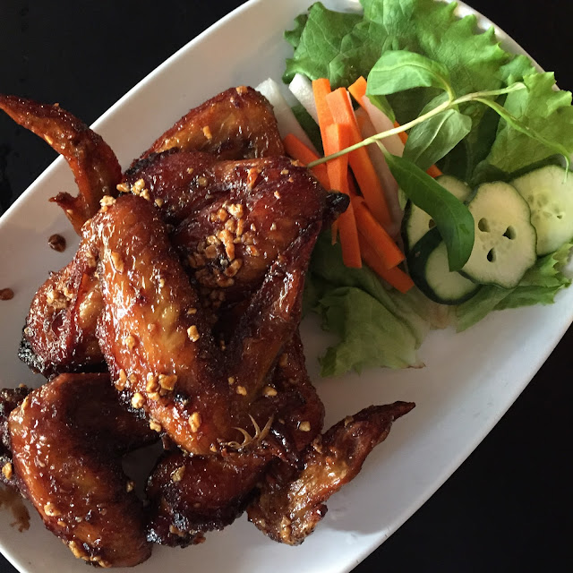 Ike's Vietnamese Fish Sauce Chicken Wings at Pok Pok in Portland, OR