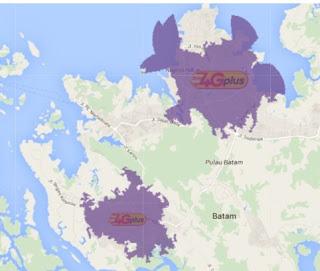 Jangkauan Jaringan 4G Indosat Ooredoo  Pekan Baru