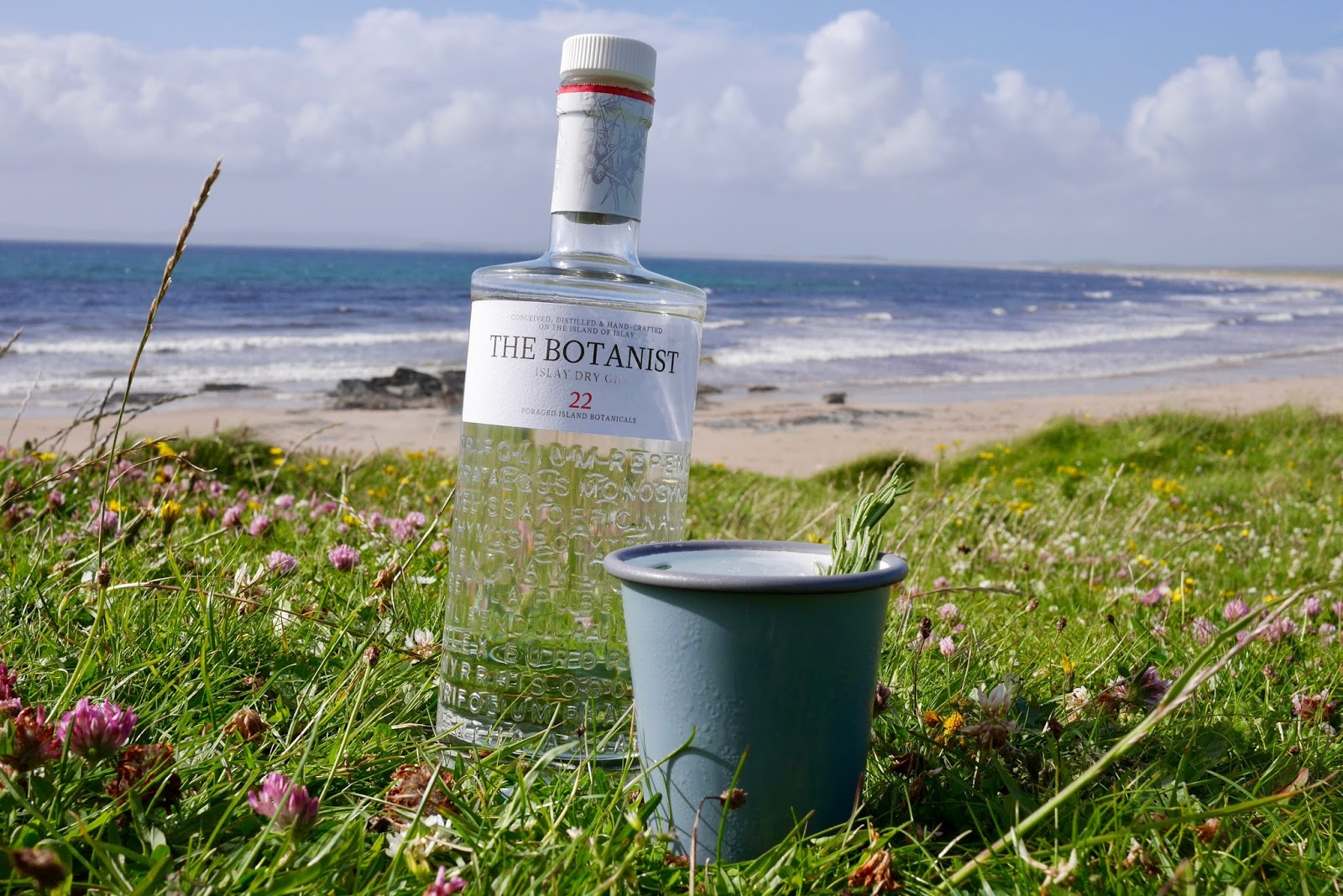 Botanist Gin from Bruichladdich Distillery, Islay by Cal McTravels, www.CalMcTravels.com