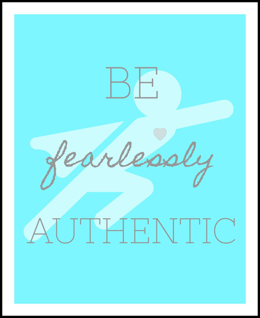 be more authentic printable poster