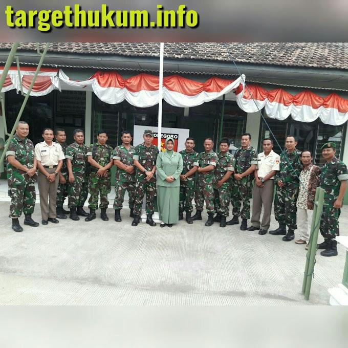 Silahturahmi Dandim Pati Baru Dengan Personel Koramil 07 Wedarijaksa Guna Perkuat Keharmonisan Atasan Dan Bawahan