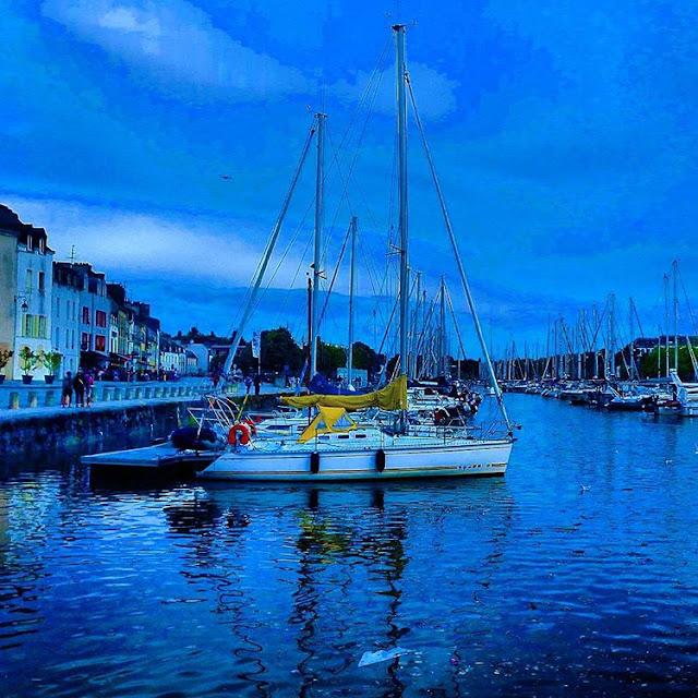 Port of  Vannes I Brittany I France I Travelling Hopper I