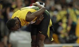 World Fastest Man Usain Bolt Loses Mens 100m