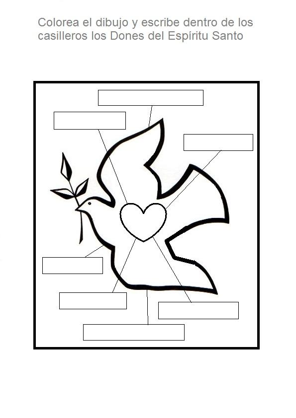El Rincón de las Melli: JUEGO: Completar los dones del Espíritu Santo