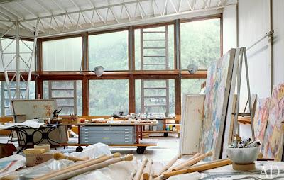 Automatism Atelier Willem De Kooning S Studio